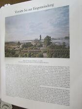 Berlin Archive 11 banlieue 6023 regard sur treptow & stralau pour 1835 H. Hintze