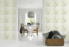 391010 Perlglanz grün floral Moderne Merkmal Tapete Nordische Blüten