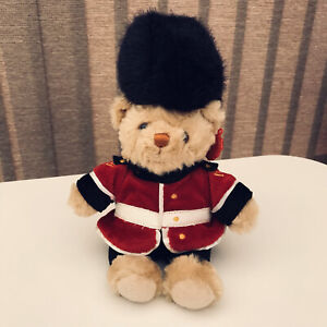 Keel Toys British Solider Queens Guard Teddy Bear (26 cms H )Red Jacket