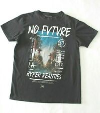 "Primark Mens M short sleeve tee shirt graphic Compton Hollywood  CA ""No Future"""