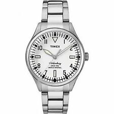 Timex Waterbury TW2R25400 Stainless Steel Analog Indiglo Watch