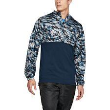 Under Armour Wind Jacket Men's 1/4 Zip Jacket Windbreaker Hoodie 2XL