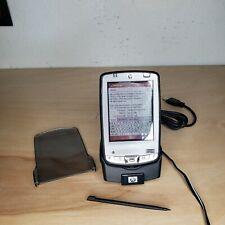 Hewlett-Packard iPaq Z125- Pda Dock, Battery, Adapter, cd *Read Description*