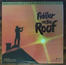 DAD'S LASER DISC COLLECTION FIDDLER ON THE ROOF Topol WIDESCREEN 2 DISC MUSICAL