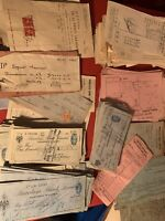 Barclays Bank  bundle of X20 Random - Cheques And More 1910 To 1950