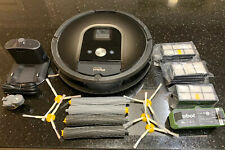 Used iRobot Roomba 980 Robotic Vacuum Cleaner With Lots Of Extras.