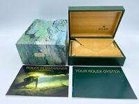 GENUINE ROLEX SUBMARINER 16613 watch box case 68.00.02 booklet 022719 F/S