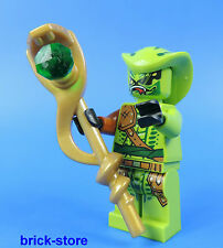 LEGO® Ninjago  Figur / LASHA  mit goldenen Schlangenstab