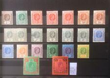 Leeward Islands 1938-51 Sg 95-114 Mint.