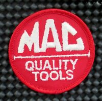 MAC TOOLS EMBROIDERED SEW ON PATCH QUALITY POWER WRENCH ADVERTISING 2 1/2""