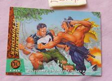 94 Fleer Ultra Wolverine vs Punisher 147 Greatest Battles X-Men