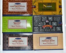 Satya Brand Incense Sticks- Choose Your Scent -Box of 12 !!Free Shipping!!