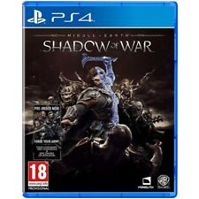 Middle Earth Shadow of War PS4 Game - Brand New!