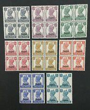 MOMEN: INDIA NABHA SG #105/116 BLOCKS MINT OG NH LOT #193938-2391