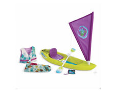 American Girl Lea Clark's Kayak Set w/Kayak Accessories - Camera,Vest,Sail - New