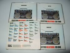 Electro Beatbox (2002) 3 cd Set cds + Inlays Are Ex + Condition/Outer Box is Vg