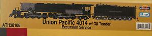 Athearn Big Boy 4014 Excursion Service DCC Ready ATH30106 N Scale Steam Engine