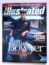NASCAR ILLUSTRATED-SEPT 2007-CLINT BOWYER COVER WITH TRUEX JR plus Poster mint