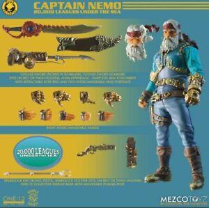 CONFIRMED PRE-ORDER Mezco Toyz Captain Nemo Rumble Society One:12 Collective