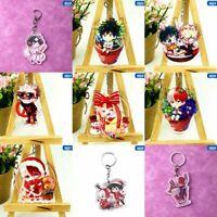 My Hero Academia Todoroki Shoto Anime Acrylic Keychain Keyring Bag Pendant Lldty