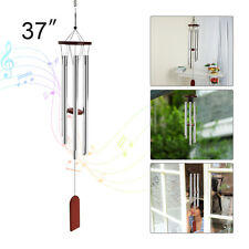 37' Wind Chimes 6Tubes Outdoor Large Deep Tone for Garden Patio Balcony Decor