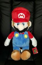 """Super Mario Bros Mario Big Plush 24"""" Round 1 Toreba Licensed NintendoNWTs"""