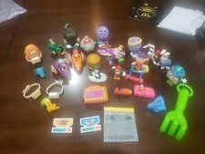 New ListingFast Food Kids Happy Meal Small Toys vintage McDonalds Loose Mixed toys 25 toys