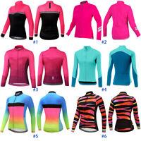 Women Cycling Jersey Jacket Bicycle Long Sleeve Bike Shirt Cycle Clothing Top