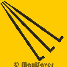 3 Antenas SET > 9dBi Wlan WiFi Antena RP-SMA TRENDnet TEW-633GR TEW 630APB