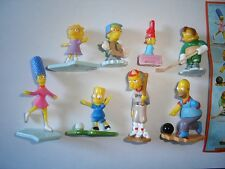 THE SIMPSONS SPORTS 2011 KINDER SURPRISE FIGURES SET - FIGURINES COLLECTIBLES