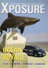 Chrysler Jeep Xposure Dealer Magazine Summer 2003 UK Market Brochure