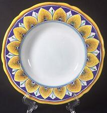Cottura Ceramic Art Dipano Franco Mari Deruta Scalloped Edge Pasta Soup Bowl