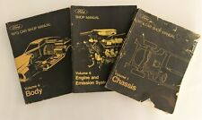 Ford 1973 Car Shop Manuals Volume 1, 4 & 6 Chassis, Body, Engine & Emissions