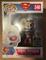 Funko Pop! Cyborg Superman Exclusive 2020 Summer Convention Limited Edition