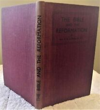 New listing Llewllin, The Bible and the Reformation, first edition, 1948