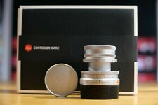 Leica Elmar M 50mm F/2.8 - 11823 Silber Chrome - Leica Store Nürnberg