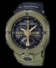 GA-500P-3A Green G-shock Men's Watches Analog Digital Resin Band New
