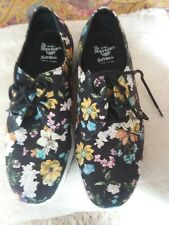 DR MARTENS FLORAL CAVENDISH SHOES UK 7 EU 41 VGC