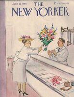 New Yorker Magazine June 22 1946 Helen E Hokinson Peter Arno