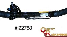 Power Steering Rack and Pinion Complete Unit-Assembly Quality Rebuilders 22788