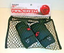 Maverik Bad Boy Lacrosse Size X Small Arm Pads Black w Red & White New in Bag