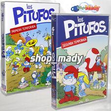 Paquete Los Pitufos Temporada 1 Y 2 - 8 DVD's en Español Latino Región 4