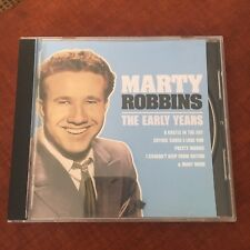 MARTY ROBBINS CD. THE EARLY YEARS. 17 SONGS