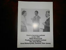 BMW OEM Product Knowledge Contest 1986