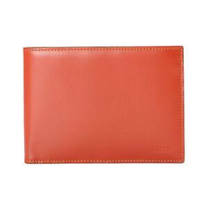 Gianfranco Ferre Men's Cognac Brown Leather Bifold Wallet