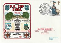 22 MAY 1982 QUEENS PARK RANGERS v TOTTENHAM H FA CUP FINAL DAWN FOOTBALL COVER