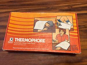 Vintage 1984 Battle Creek Thermophore Automatic Moist Heating Heat Pad #56 Used