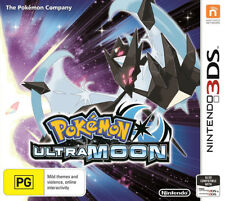Pokemon Ultra Moon 3DS Game NEW