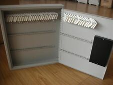 NEW ELECTRONIC KEY STORAGE CABINET HOLDS 120 KEYS & TAGS WALL MOUNT BOX SAFE