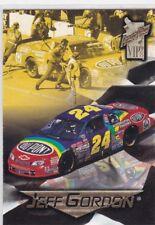 NASCAR JEFF GORDON 1998 PRESS PASS VIP RACING CARD #40